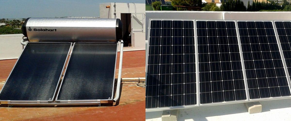 Energía Solar Térmica y Fotovoltática